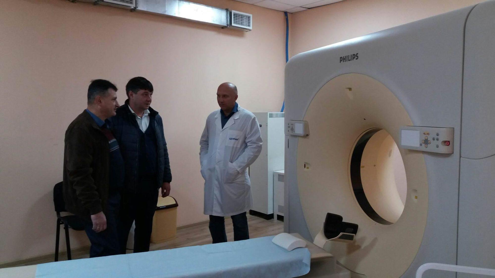 У Фастівській ЦРЛ працюватиме новий комп'ютерний томограф екстра-класу - Фастів - 73166310 2863566183662545 6452847702613950464 o 2000x1125