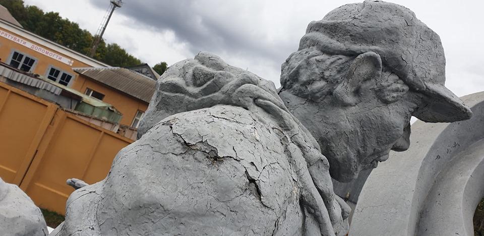 Чорнобильський пам'ятник ліквідаторам під загрозою руйнації -  - 73169011 2776192462399564 2257974997404352512 n 1