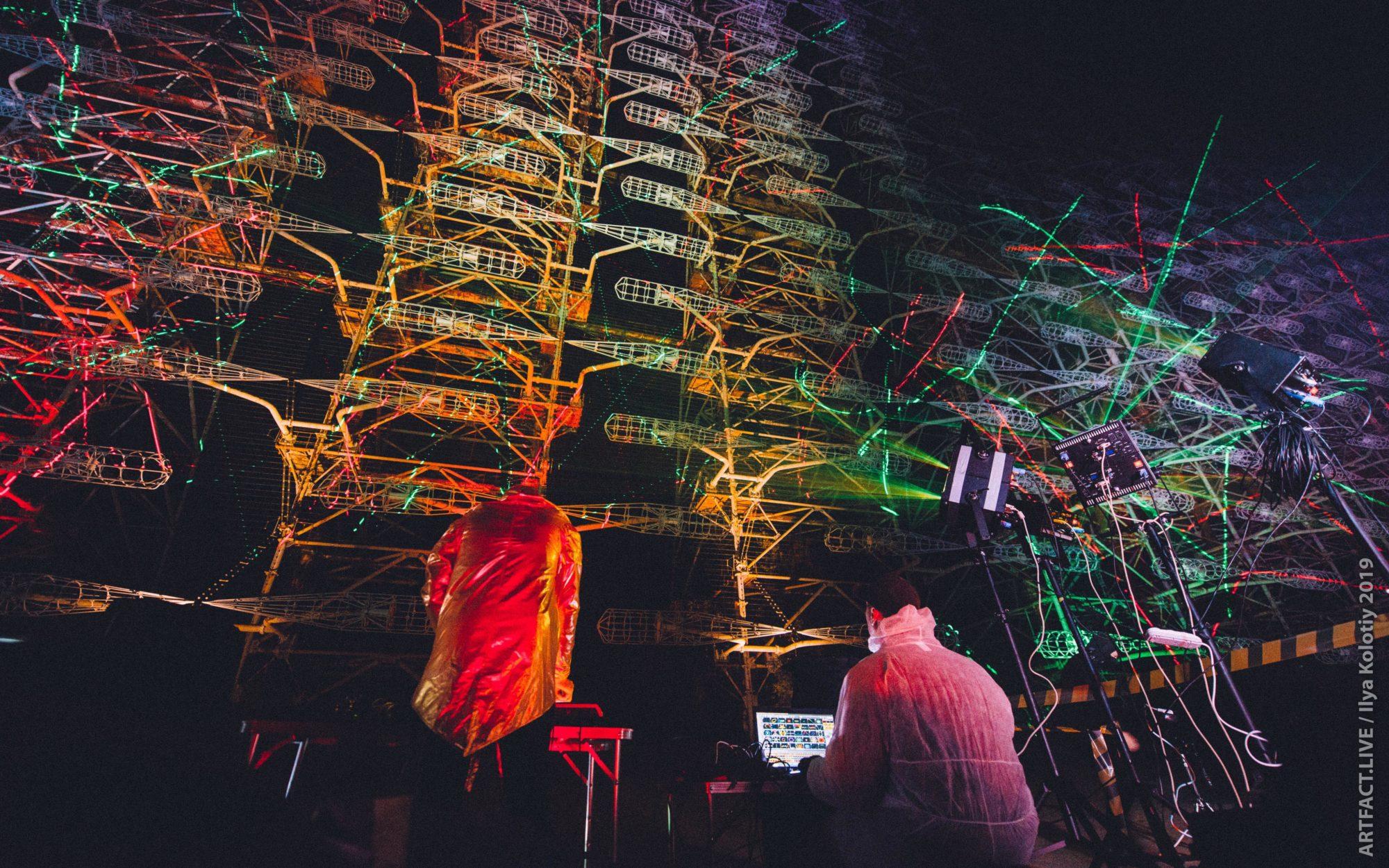 """Діджитал-скульптура """"Чорнобильське сяйво"""" стала рекордом України (відео) -  - 73233563 451107692191430 9008759620654596096 n 2000x1250"""