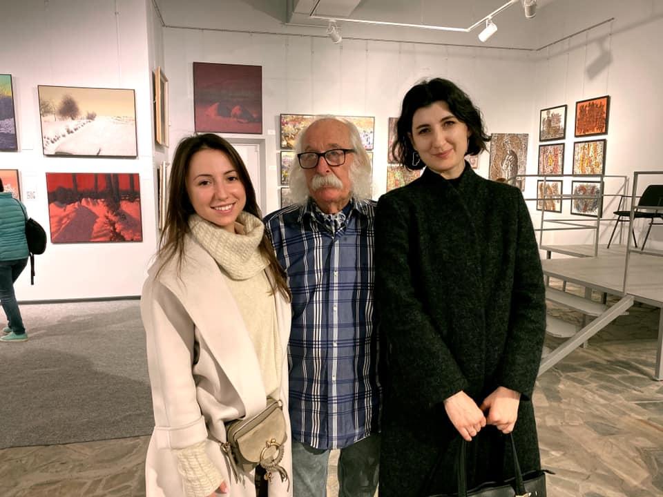 В столиці відкрилася виставка картин «українського Пікассо» - Івана Марчука. -  - 73284851 2662654493785240 8764838991871606784 n