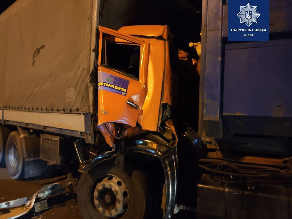 На Столичному шосе в аварію потрапив  водій «Обухівміськвторресурсів»: є травмований -  - 74271058 559369944810080 3729890878500634624 o