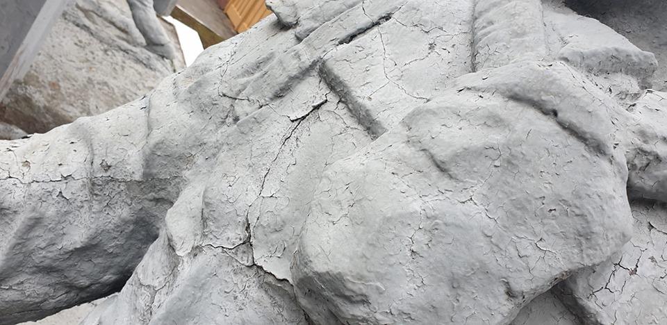 """""""Тим хто врятував світ"""": скульптурна композиція ліквідаторам аварії на ЧАЕС  потребує допомоги -  - 74615464 2776192532399557 448492163064397824 n"""