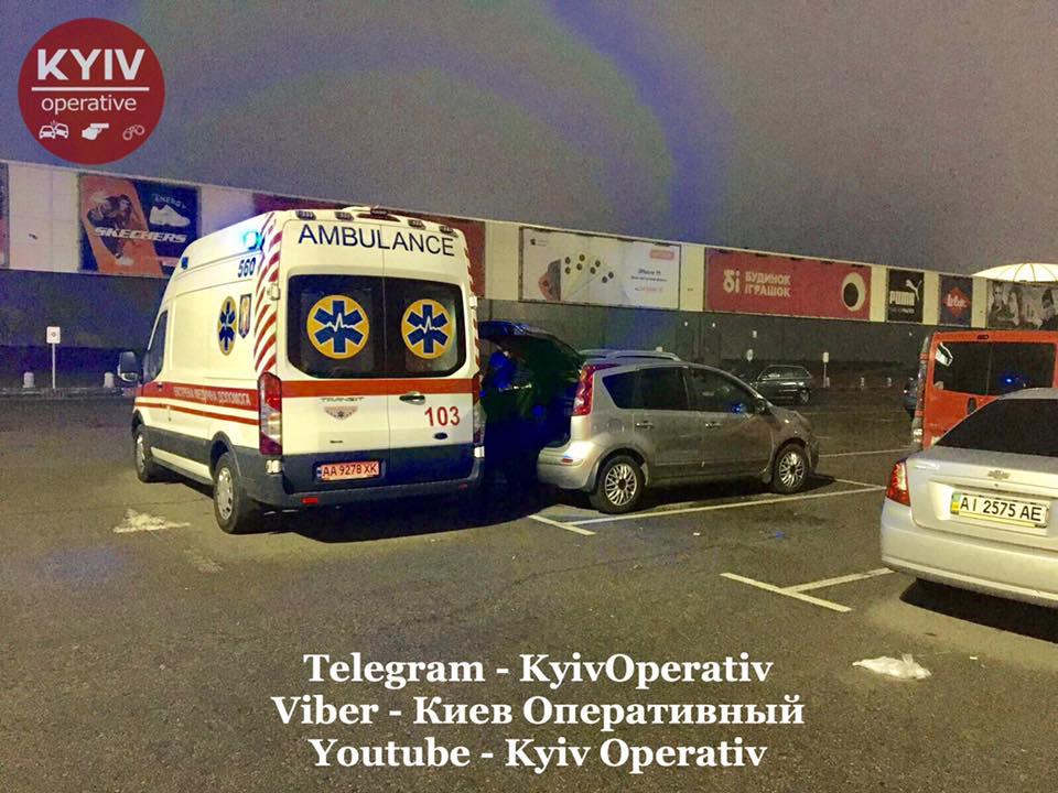 Самогубство на парковці супермаркету у Києві -  - 75418944 828892204173534 5764237988343054336 n