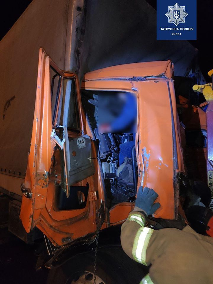 На Столичному шосе в аварію потрапив  водій «Обухівміськвторресурсів»: є травмований -  - 76727069 559369938143414 5220207443170033664 o