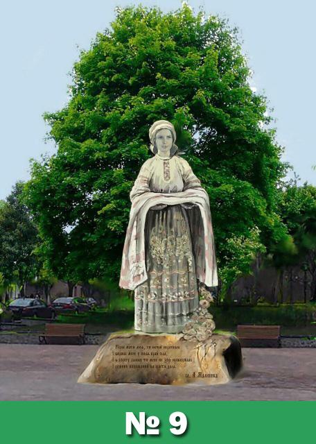 Мешканці Обухова розпочали електронне голосування за кращий  проєкт пам'ятника на Площу Матері -  - 9