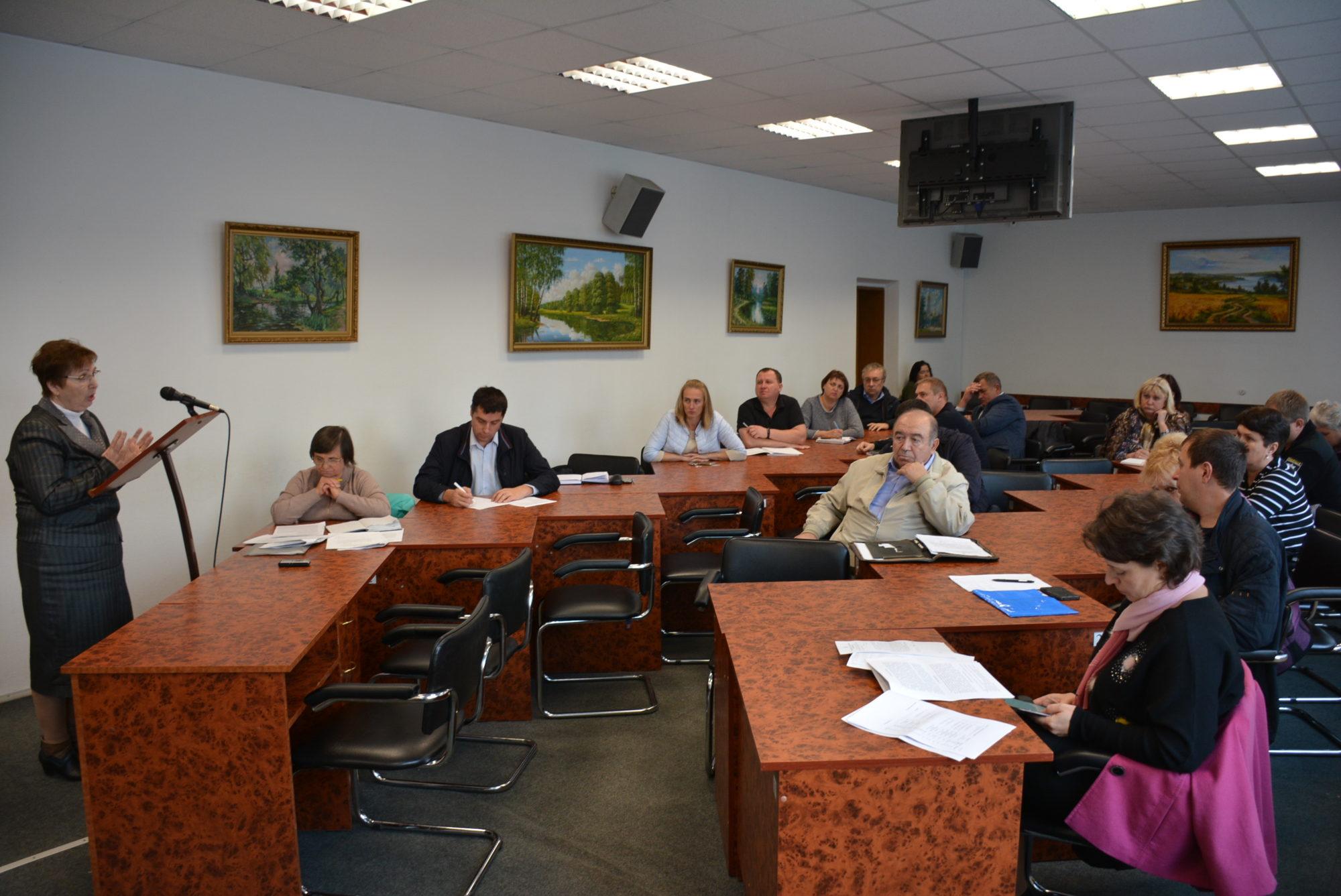 У Броварах відбулося засідання комісії з питань техногенно-екологічної безпеки та надзвичайних ситуацій -  - DSC 5488 2000x1337