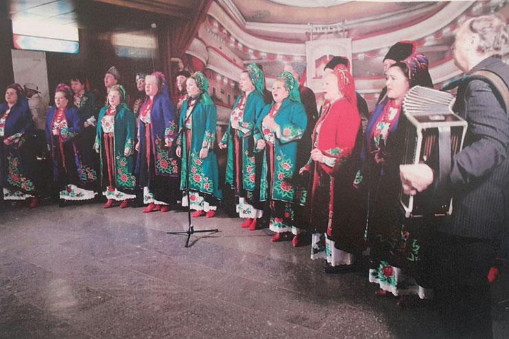 Хор Київського метрополітену виступить на прем'єрі фільму Надії Парфан -  - Hor metro na Teatralniy