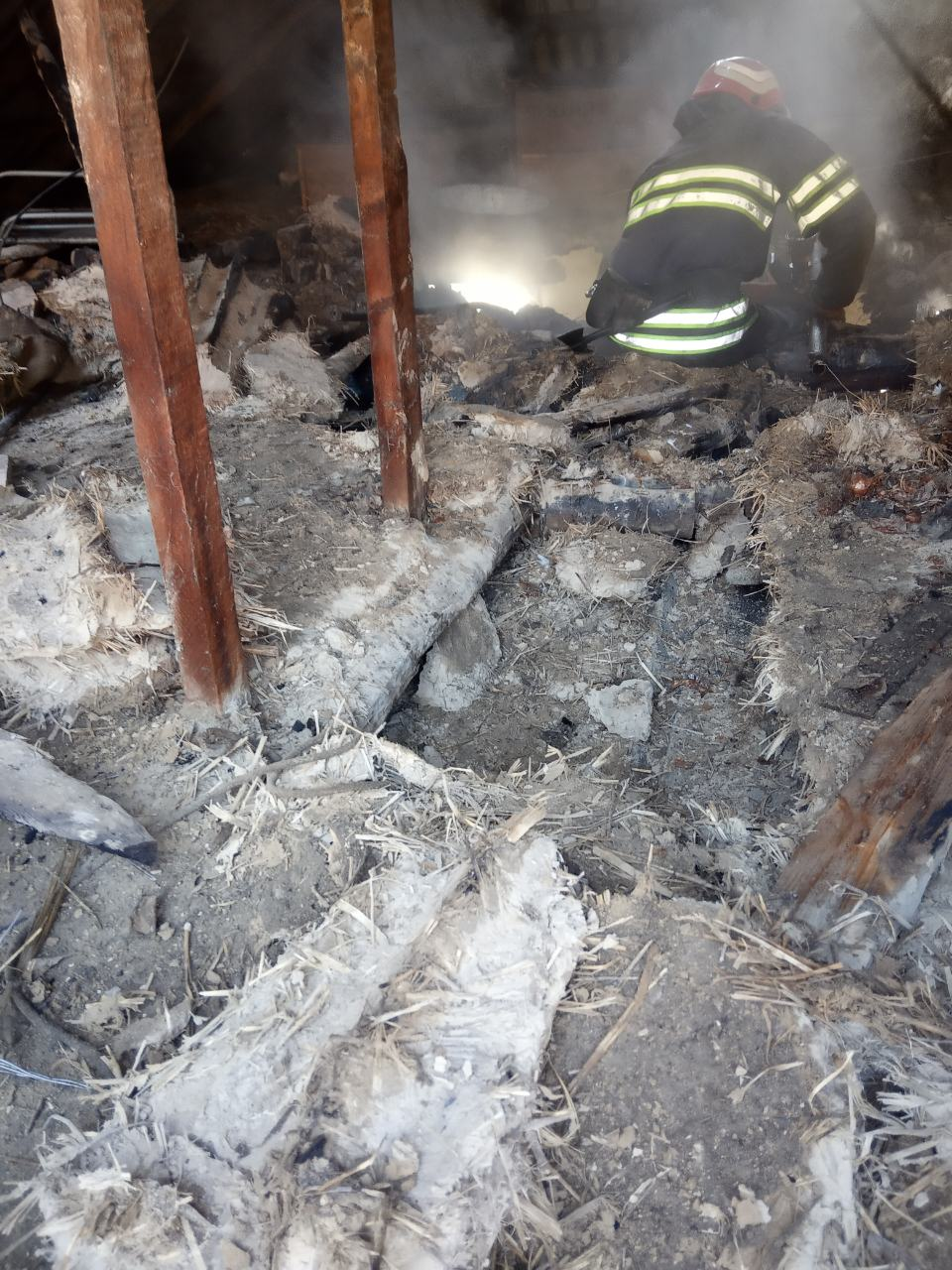 В Богуславі врятовано власницю будинку, в якому сталася пожежа -  - IMG 7a5be357982c615f8594ea923c63cd39 V