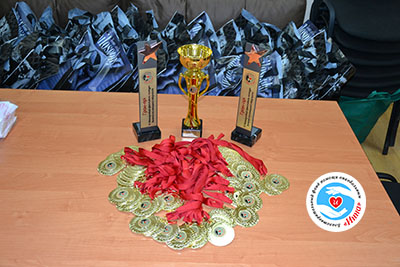 Міжнародний благодійний фестиваль-конкурс дитячої та юнацької творчості «Inna-Brovary» в Броварах -  - Prizu