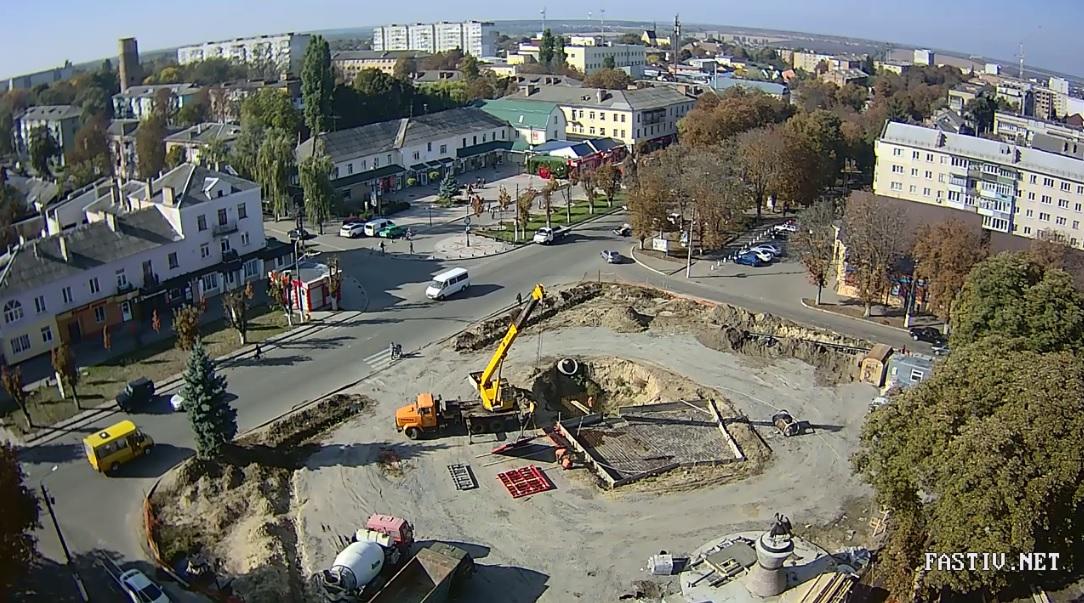 У Фастові відновили капітальний ремонт Соборної площі: з'явився новий генпідрядник - Фастів, Соборна площа, реконструкція площі - Remont