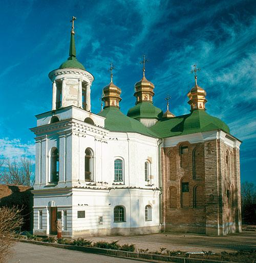 Церква Спаса на Берестові: після реставрації відкрили один з древніх храмів Києва -  - Scan 687