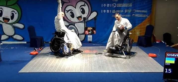 Збірна України - переможець чемпіонату світу з фехтування на візках -  - Screenshot 21 1