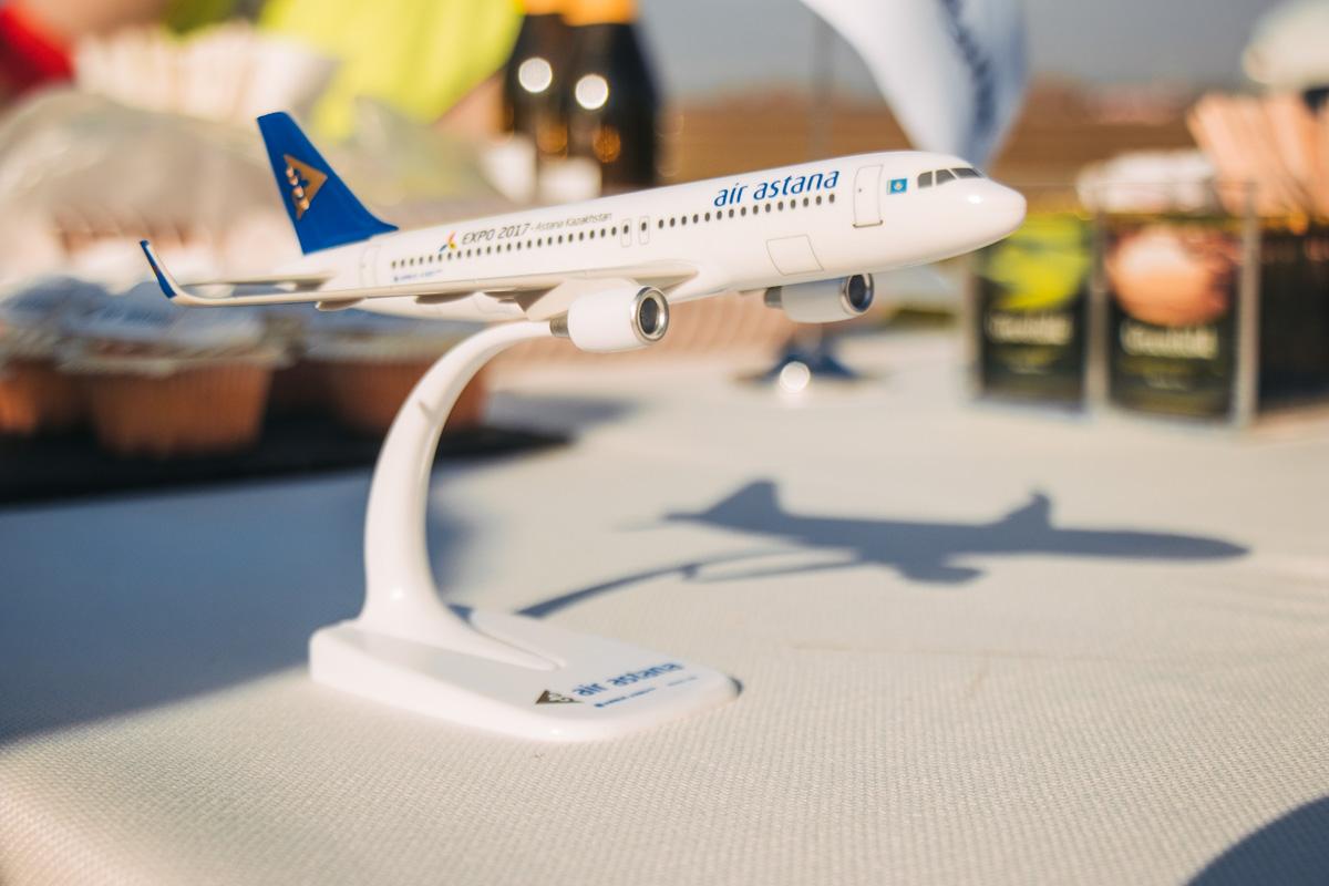 """У """"Борисполі"""" чекали на особливий літак, а прибув звичайний -  - airastana 5 iz 46"""