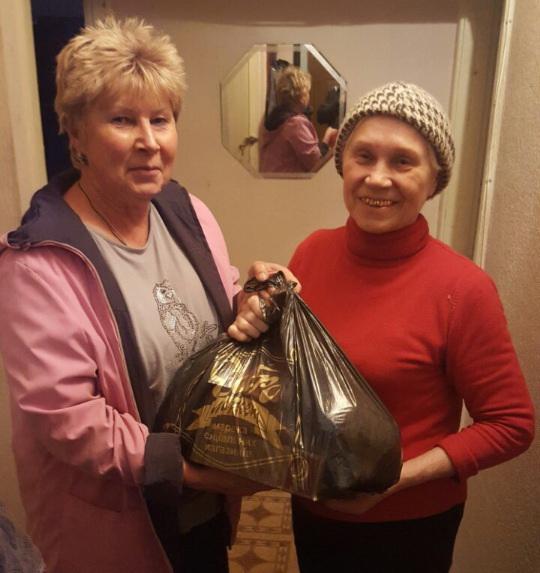Пенсіонерів Василькова привітали з Днем людей похилого віку - Україна, Суспільство, свято, подарунки, пенсіонери, Васильків - b332c95e0d1c