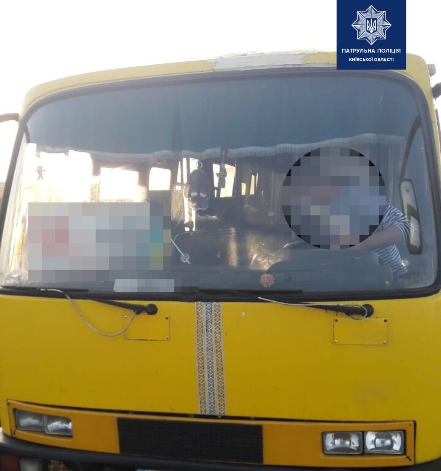 Чайки: поліція затримала п'яного водія автобуса - Чайки, патруль, автобус - chajky