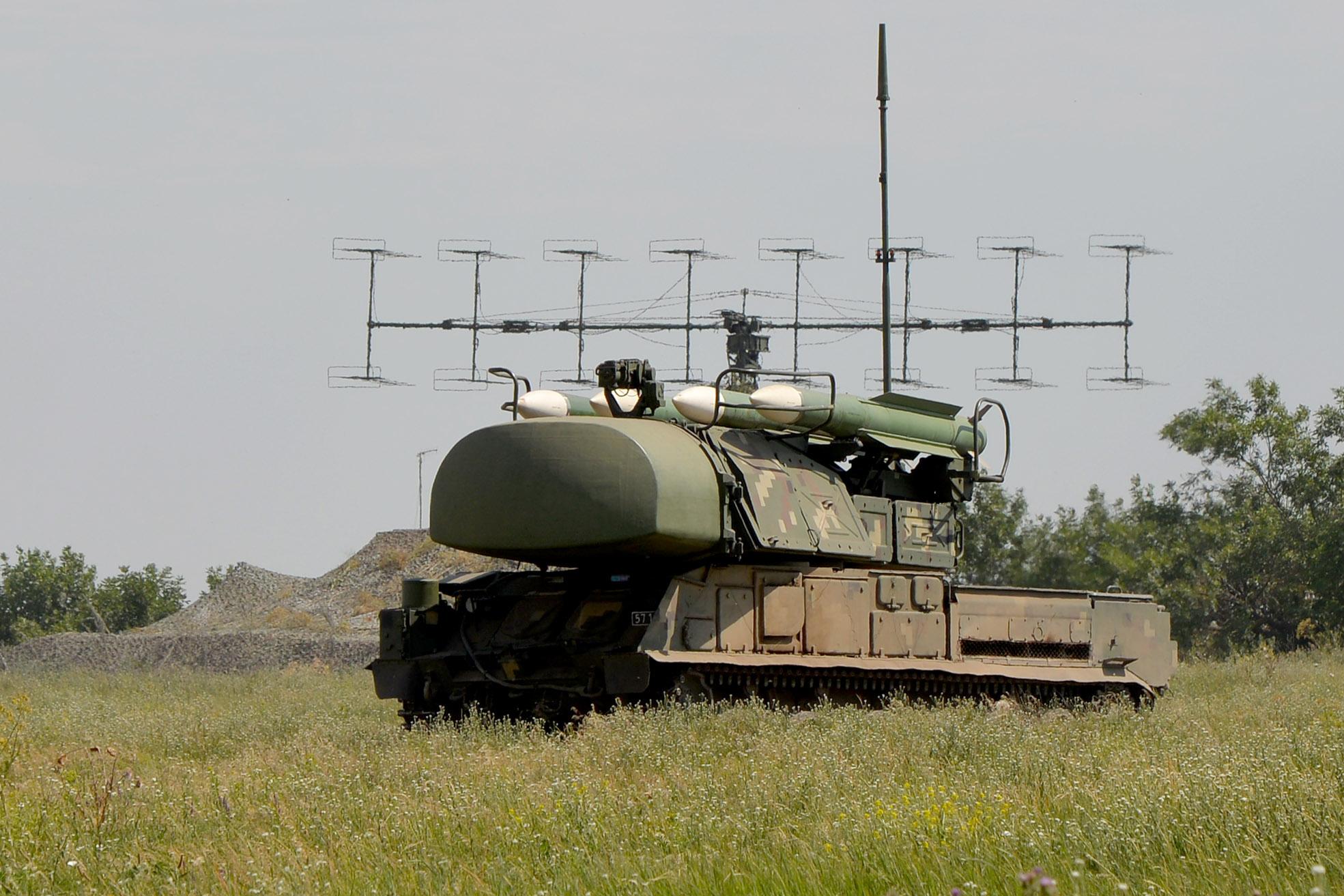 В Україні почались навчання зенітних ракетних військ з бойовою стрільбою - Військові навчання - dsc 5801