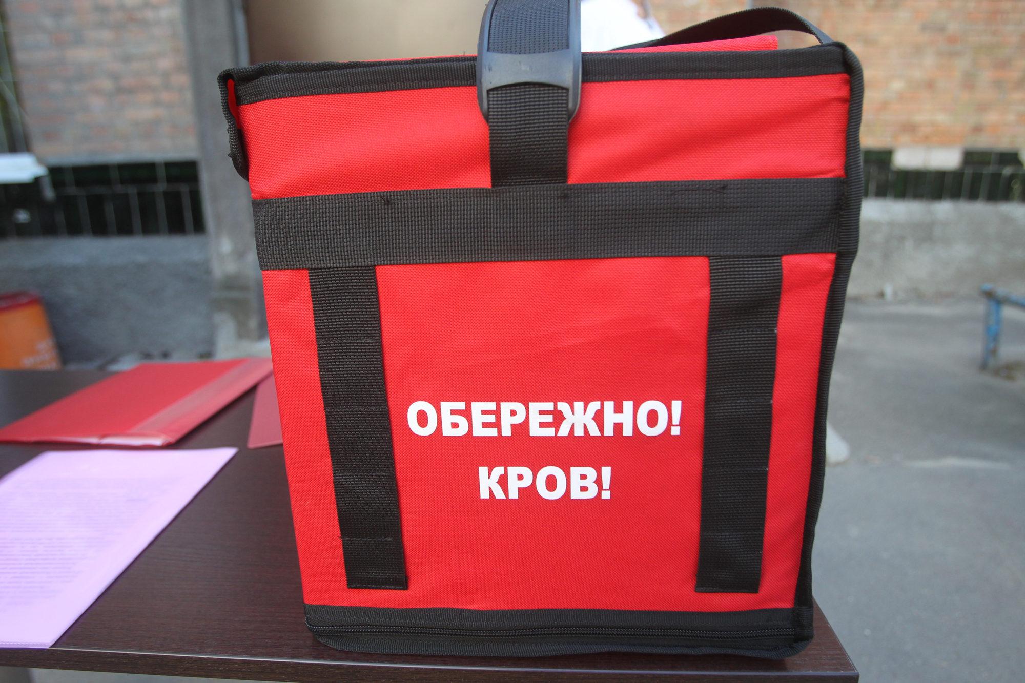 Кров до медичних закладів Києва доставлятимуть байкери
