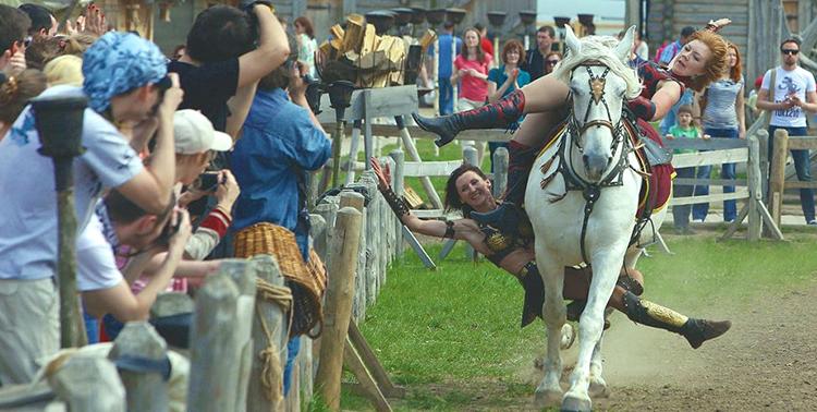 На Обухівщині в «Парку Київська Русь» відбудеться кінно-трюкове шоу -  - kenotavr9