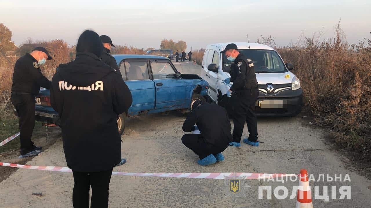 knyazh Затримано осіб, які з метою вбивства розстріляли автомобіль на Броварщині (відео)