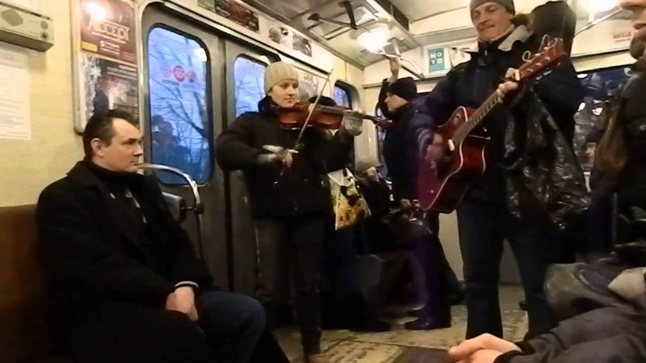 Співакам і музикантам заборонять «виступати» у київському метрополітені