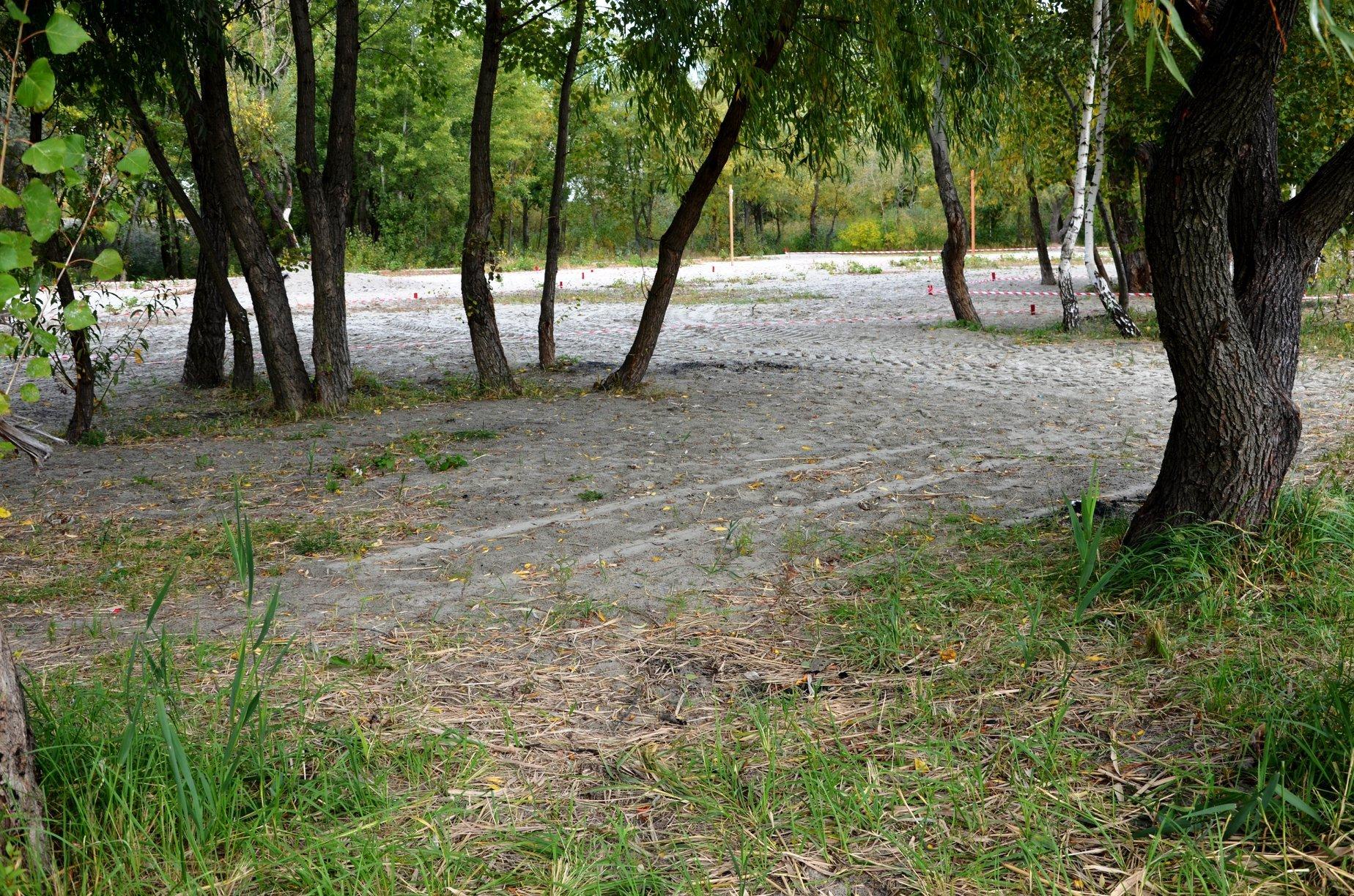Територію біля озера Лебедине перетворять на фітнес-парк -  - park dprnytskyj