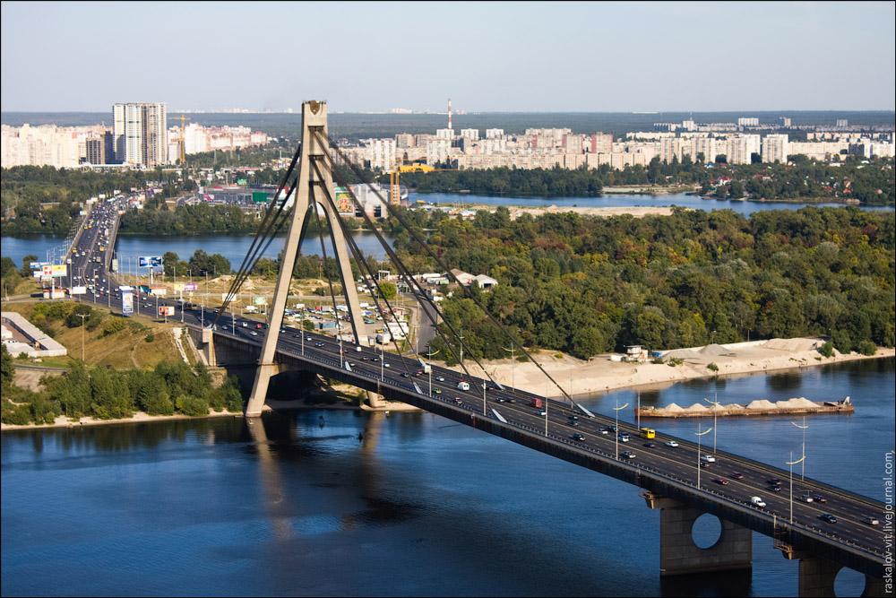 На вихідних перекриють Північний міст -  - pivnichnyj mist