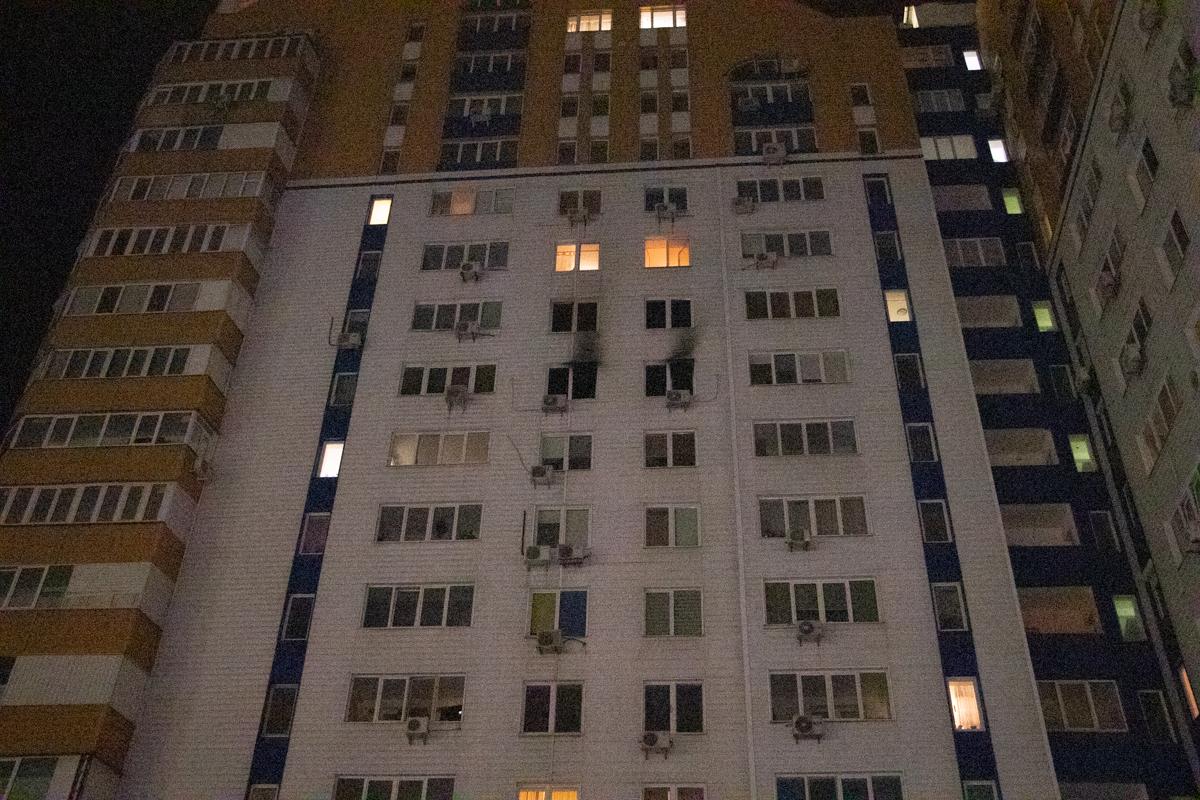 Через пожежу у багатоповерхівці Києва евакуювали 21 людину -  - pozhar 11