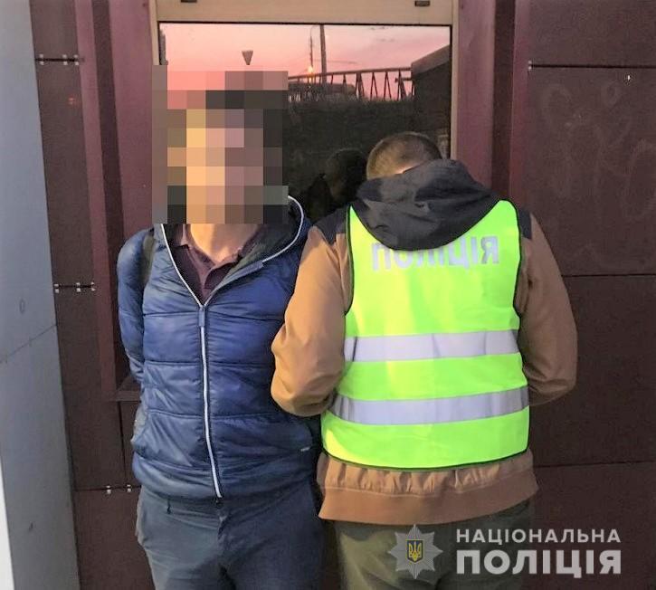 У Києві затримали чоловіка, який поцупив товар в магазині -  - solomakrazha22102019