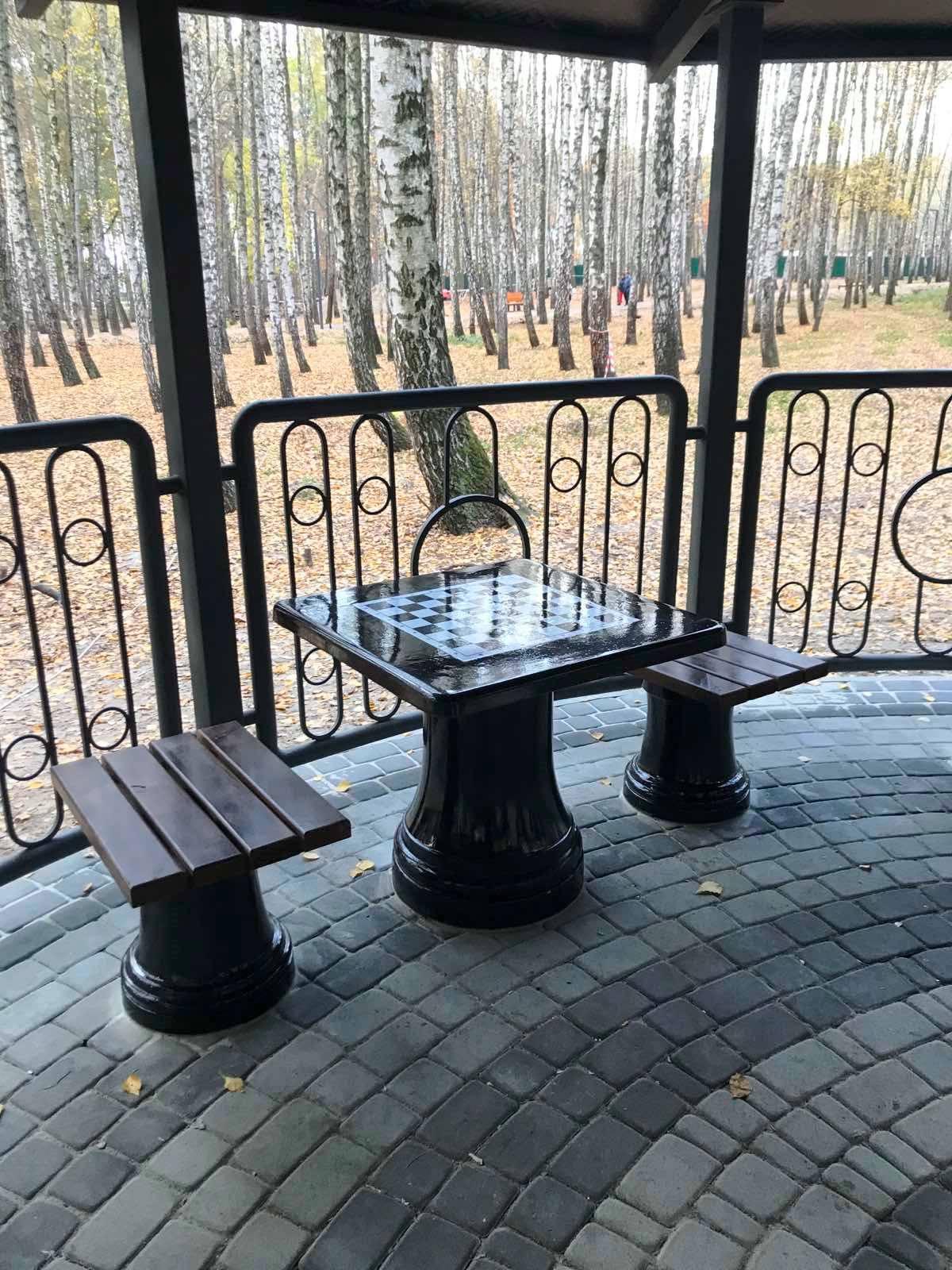 Старий парк Святошинського району реконструюють - реконструкція - sovky3