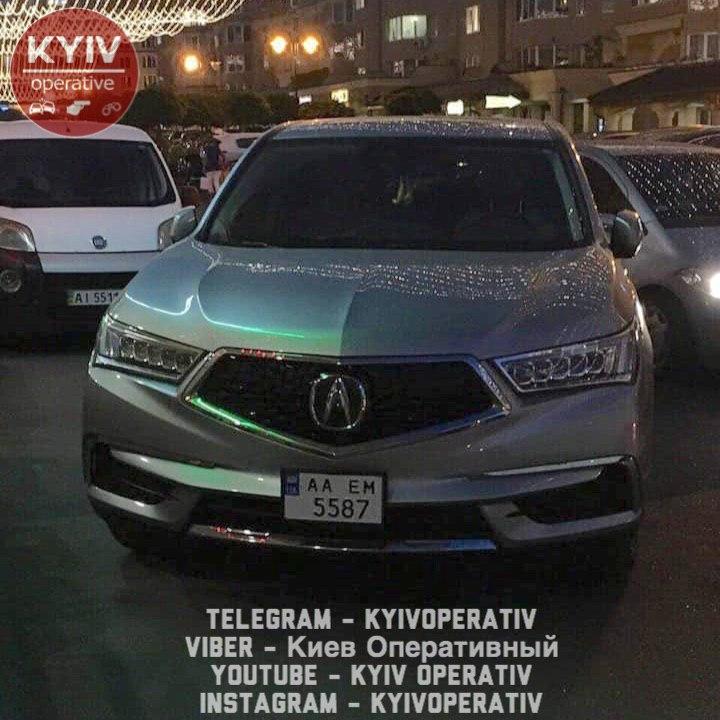У Софіївській Борщагівці викрали авто -  - ugon