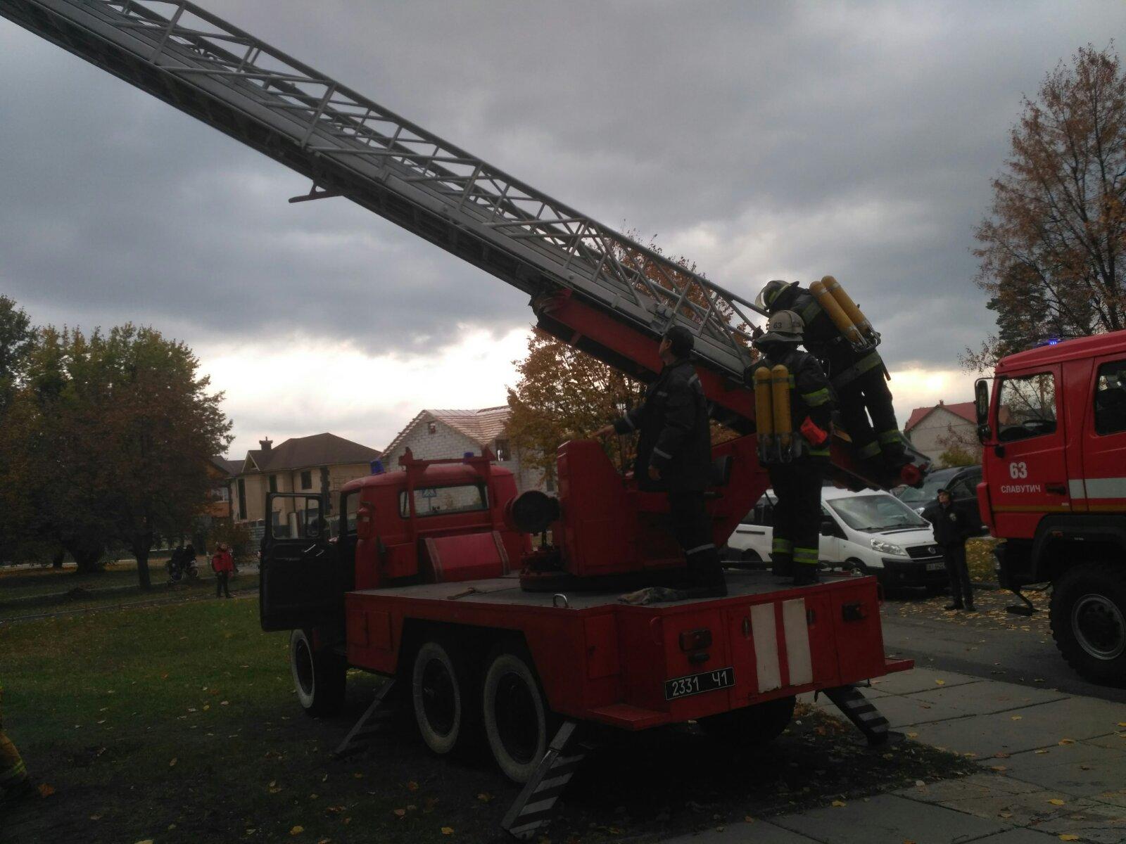 У Славутичі через пожежу евакуйовано 5 осіб: одна постраждала в лікарні -  - viber image 2019 10 10 15 02 55