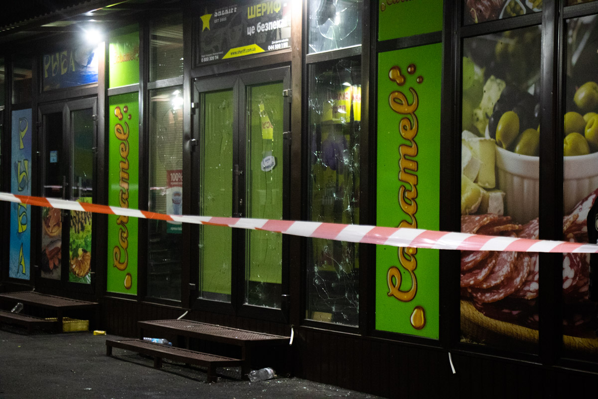 На ринку Троєщини вибухнула граната -  - vzryv granaty