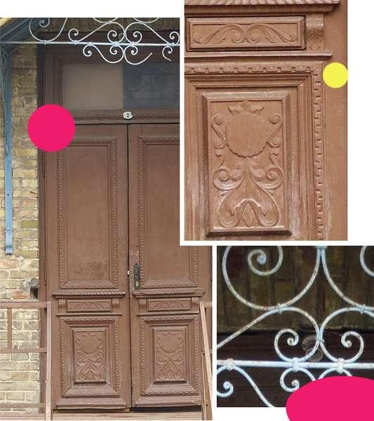 Вікові двері Луцька намагаються врятувати за допомогою світлин на їхньому фоні -  - 059d51d8138dd0369e39a0c00cd23152