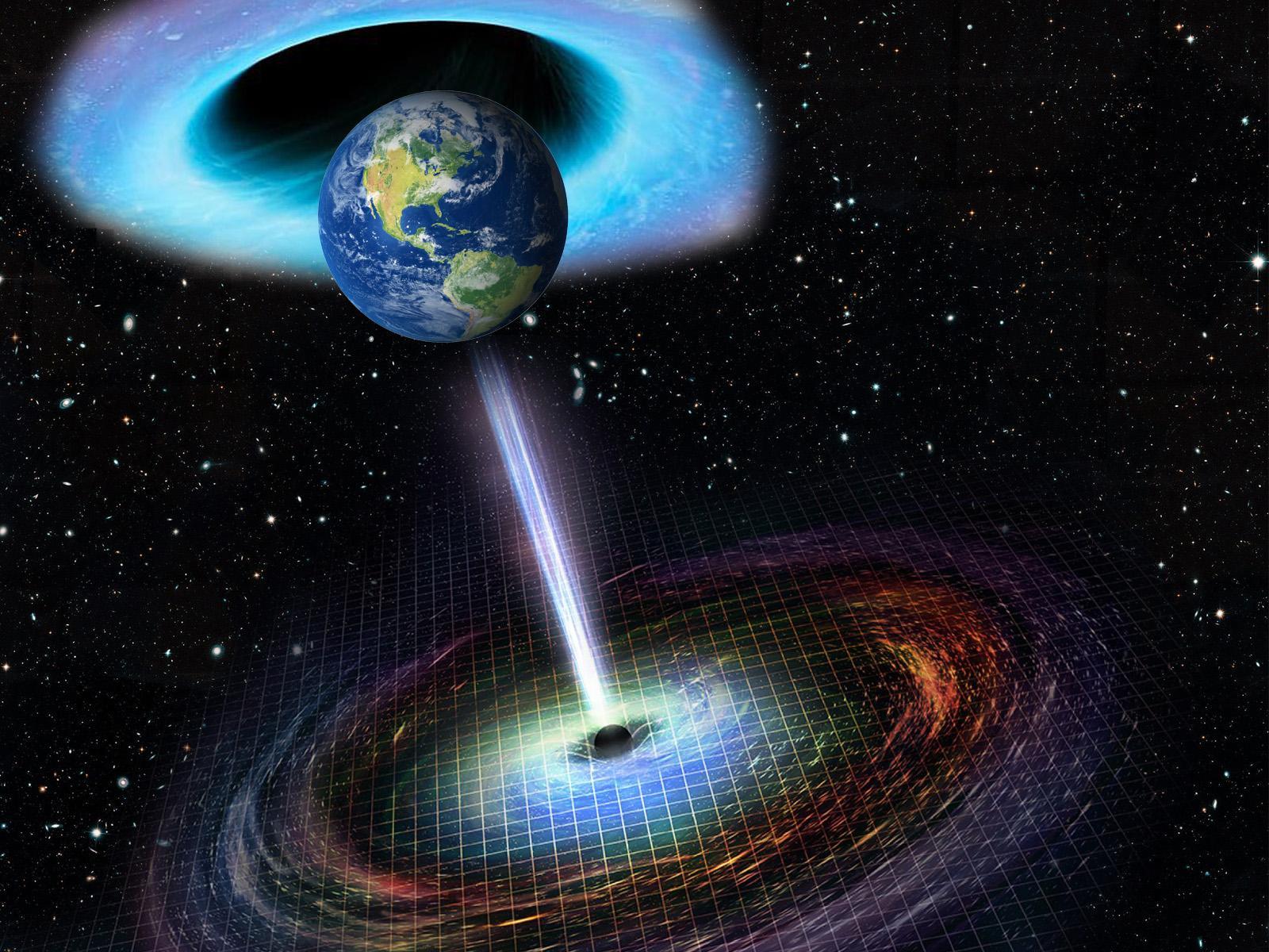 Що буде, якщо Земля зіткнеться з чорною дірою: тепер кожен може дізнатися відповідь - космос - 07 chornaya dyra2