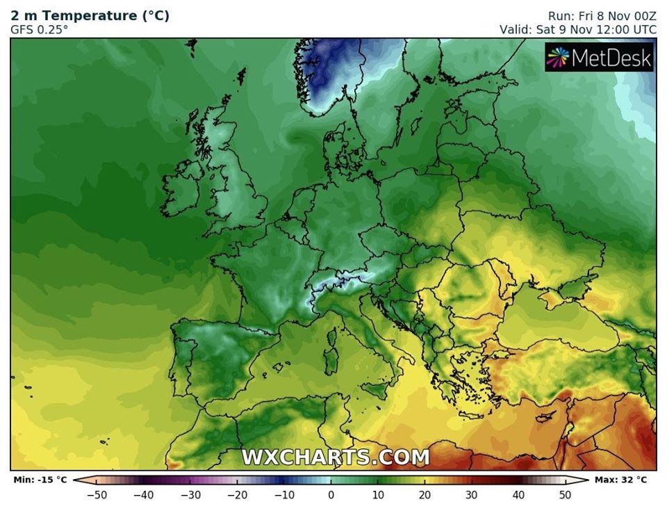 Тепло повертається: на вихідних на Київщині синоптики обіцяють +17°С - прогноз погоди, погода - 09 pogoda3