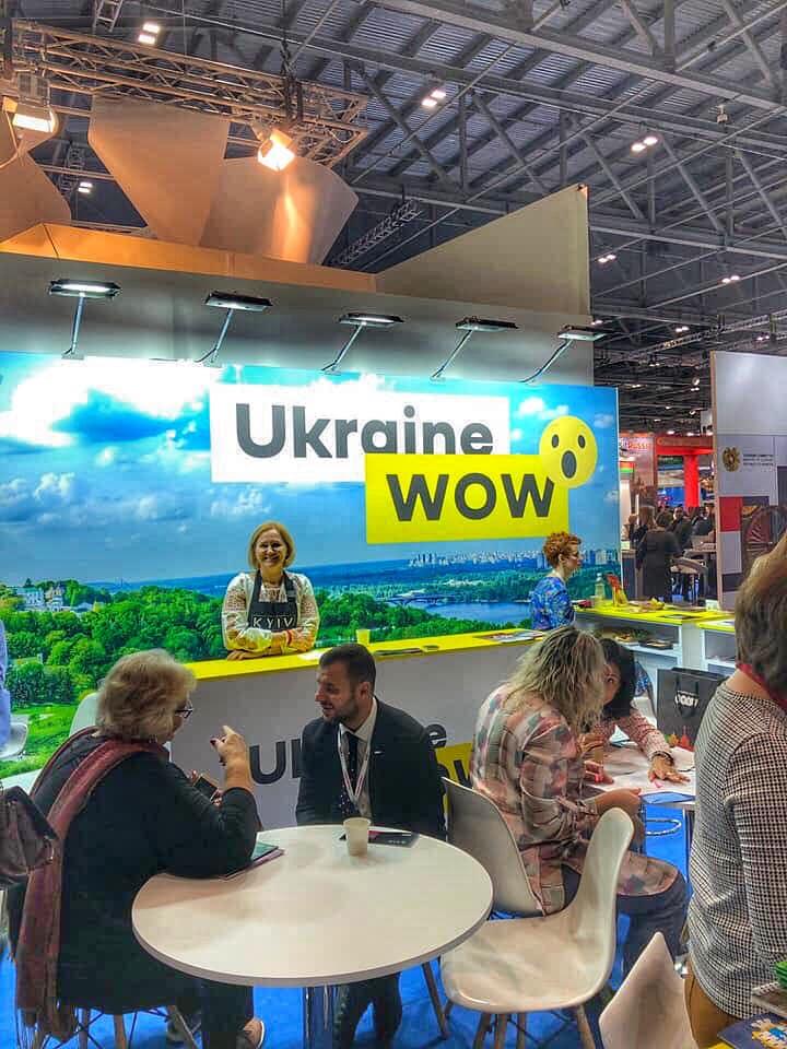 Київщина вперше бере участь у туристичній виставці у Лондоні - Чорнобиль, туристична виставка, київщина, Вишгород, Буча, Біла Церква - 1005 Lolnon Dl
