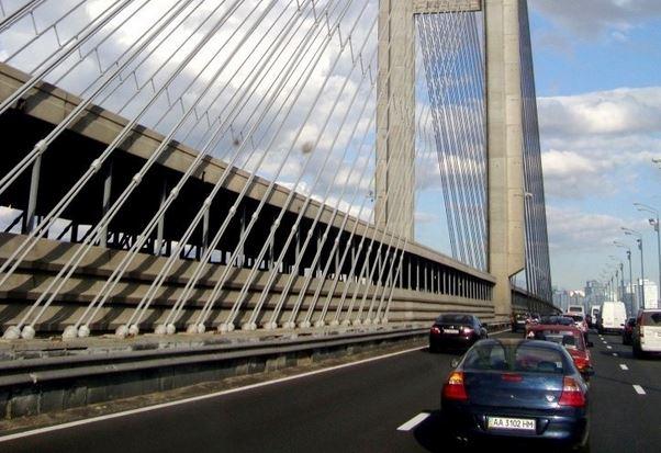 У столиці пропонують зведення ще одного мосту через Дніпро -  - 1068