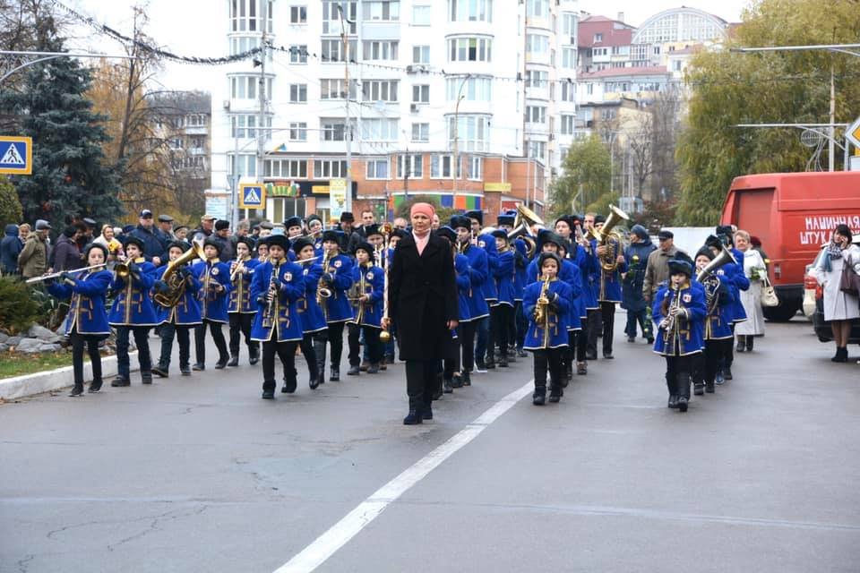 У Вишгороді відбулися заходи з нагоди звільнення міста від нацистів - київщина, вшанування, Вишгород - 1104 Hoda1