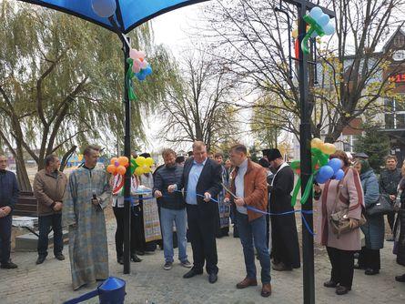 У день Казанської Божої Матері старопетрівчанам подарували бювет - Старі Петрівці, київщина, Вишгородський район - 1105 Byuvet SP2
