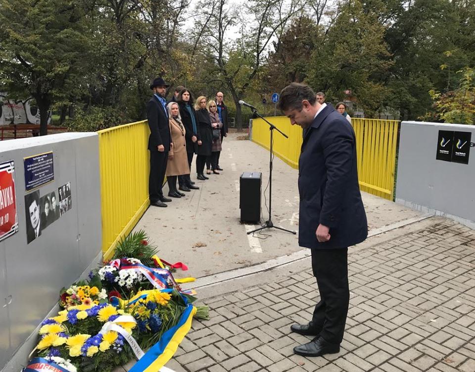 Василя Макуха вшанували у Празі - Україна, світ, вшанування - 1105 Makuh1 1