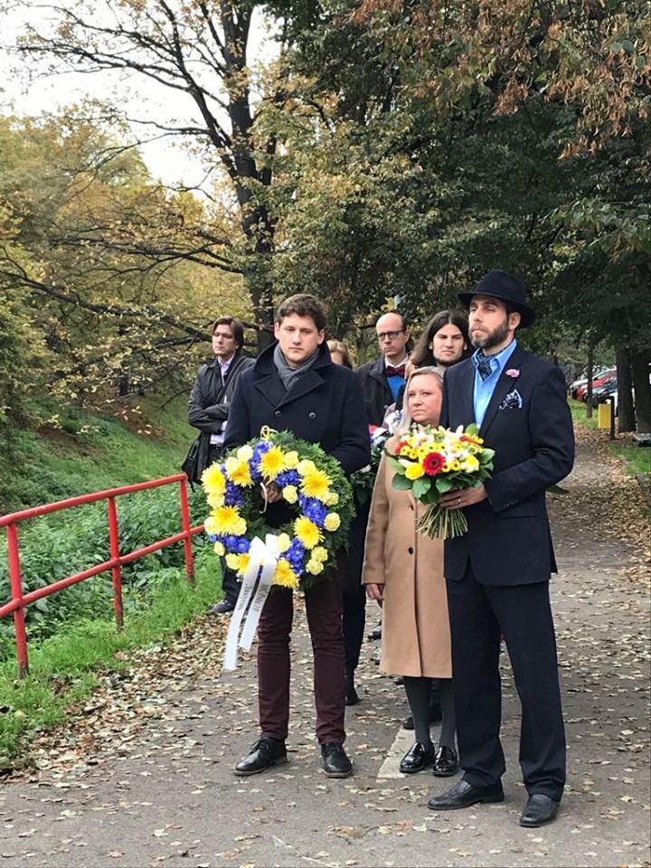 Василя Макуха вшанували у Празі - Україна, світ, вшанування - 1105 makuh2