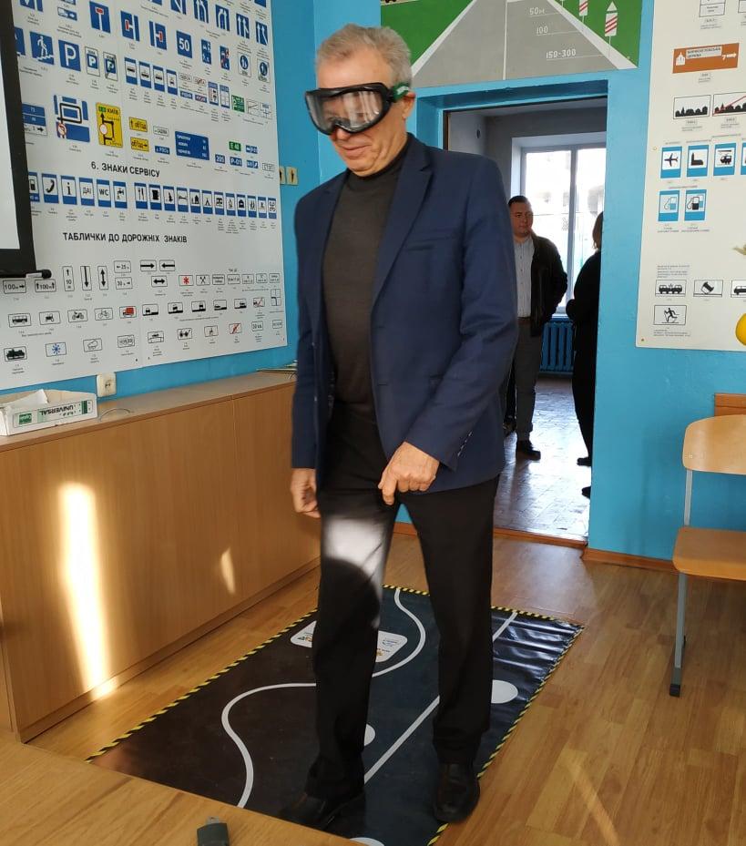 У Вишгороді водії в окулярах імітували сп'яніння - тестування, київщина, Вишгород, безпека руху - 1112 OK Fedirko