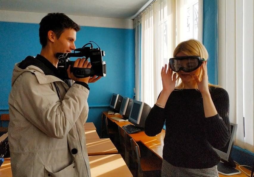 У Вишгороді водії в окулярах імітували сп'яніння - тестування, київщина, Вишгород, безпека руху - 1112 OK Galya