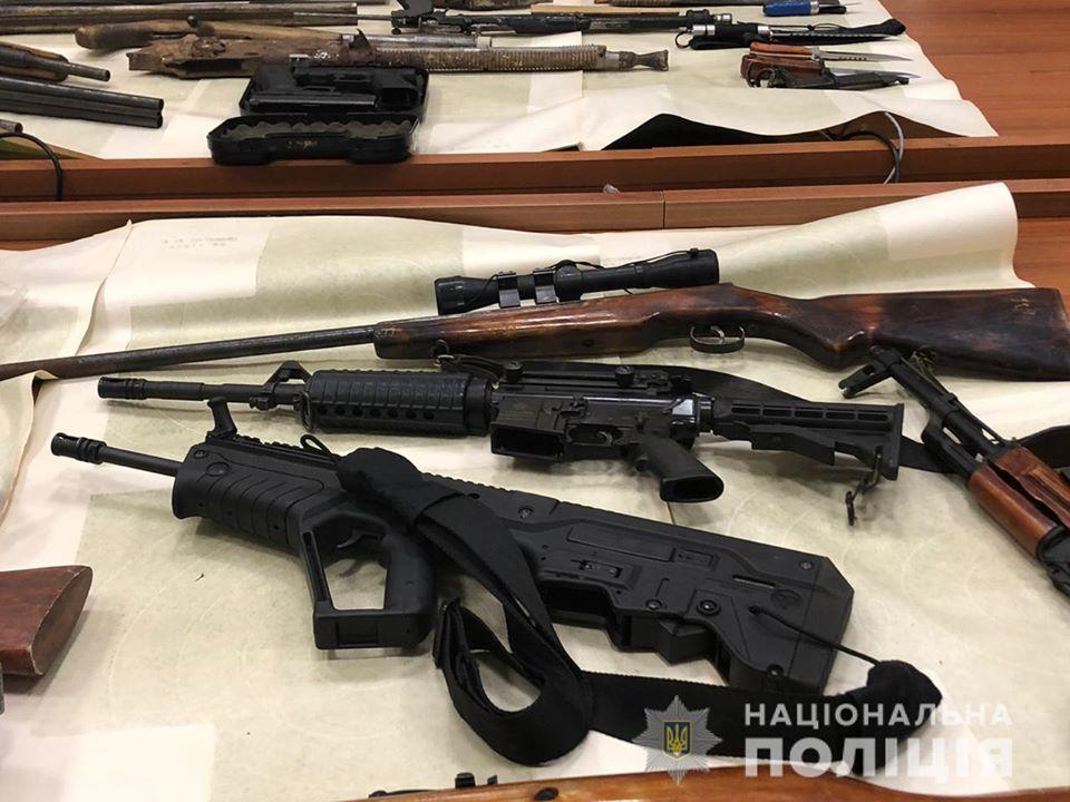 На Київщині незаконно зберігали  кулемет - поліція Київщини, київщина - 1115 zbroya2