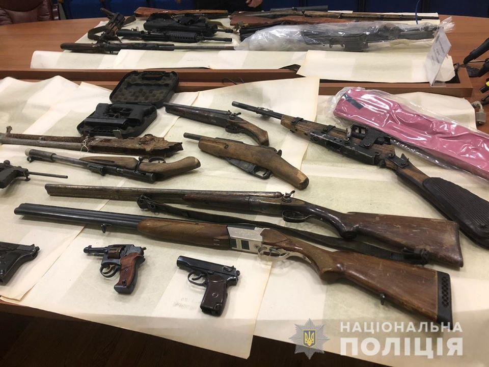 На Київщині незаконно зберігали  кулемет - поліція Київщини, київщина - 1115 zbroya3