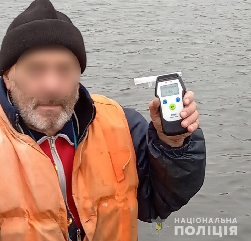Поліція Вишгородського району спіймала п'яних водіїв човнів - правопорушення, Поліція, київщина, Вишгородський район - 1118 polits1