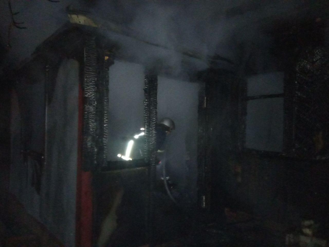 1119_pozh1 Трагедія на Вишгородщині: під час пожежі загинув чоловік