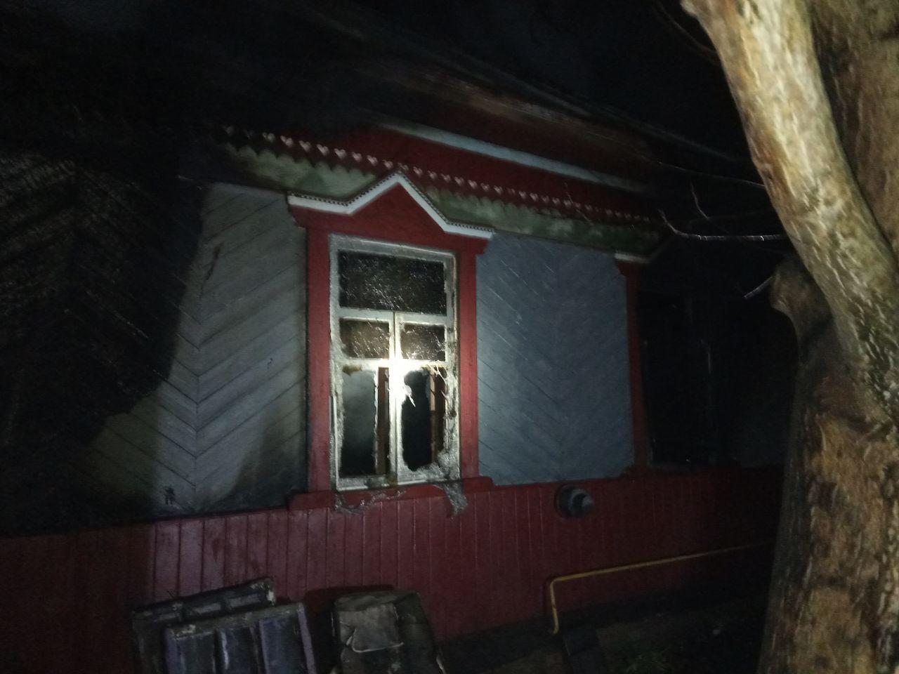 1119_pozh2 Трагедія на Вишгородщині: під час пожежі загинув чоловік