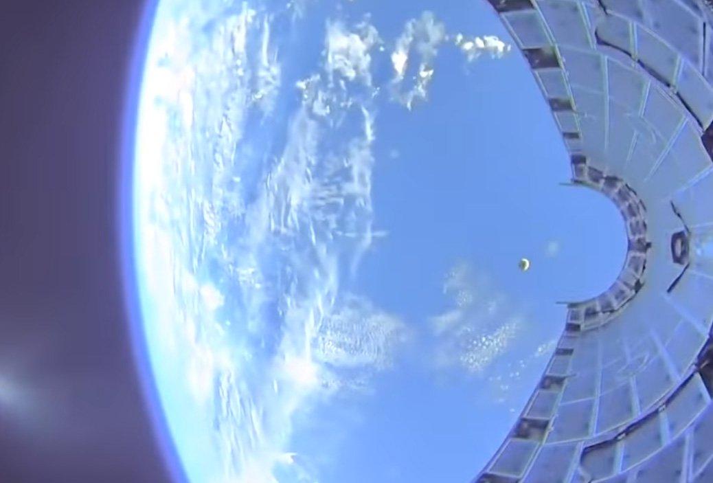 Світ побачив політ на орбіту «очима» ракети SpaceX (ВІДЕО) - ракета, космос - 12 spejs