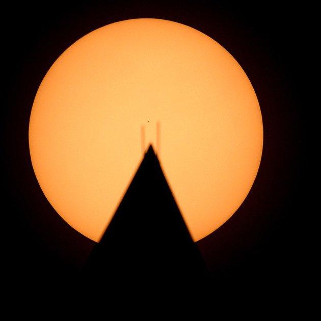 Транзит Меркурія через диск Сонця: НАСА опублікувало захоплююче відео - Сонце, Меркурій, космос - 13 merkuryj